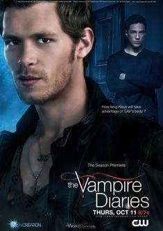 Poster promo The Vampire Diaries Saison 4 by on DeviantArt Vampire Diaries Saison, Vampire Diaries Books, Vampire Diaries Poster, Vampire Diaries The Originals, Popular Book Series, Vampire Daries, Klaus And Caroline, Season Premiere, Joseph Morgan