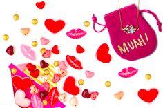 Valentine's Day treats I adore. Sugarfina + Kiss & Wear