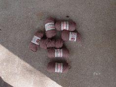 Vintage Destash Lot Yarn Wool Crisp Crepe 1 oz by QUIVERreclaimed