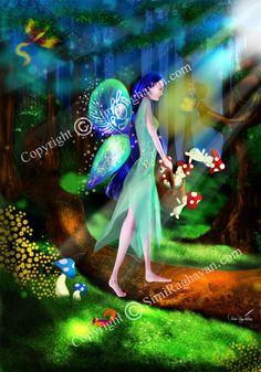 Fantasy Fairies, customized line art, coloring pages. Line Art, Fairies, Coloring Pages, Glitter, Fantasy, Creative, Handmade, Etsy, Vintage