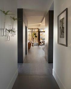 Dramatic hallway.