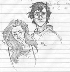 Harry and Ginny!