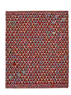 HEX HEX rug Design: BERTJAN POT in Almond as shown or strawberry. The richness of their geometric construction almost makes them seem animated offering a multiplicity of angles from which they may be 'read' like 1960s Op Art. Dimensions: 240 x 160 cm 240 x 300 cm