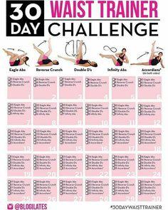 30 Day Challenge: Waist trainer abs