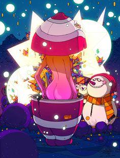 Explosive illustrations by Sakiroo Choi