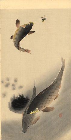Ohara Koson (1877-1945), Japan 小原 古邨