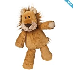 Marshmallow Lion from Mary Meyer  Available now at Bobangles.  #MaryMeyer #plush #toys #kids #cute #Australia #lion