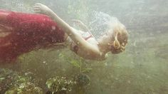 Shooting these haunting underwater photos sparked a rescue attempt