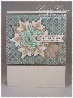 Festive Flurry Bundle includes stamp set and Framelits for 15% off