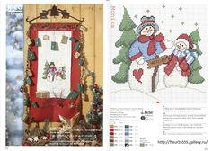 Gallery.ru / Фото #142 - Rico 79,80, 81,82, 83 - Fleur55555; Snowman Welcome