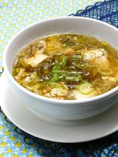 寒〜い夜の簡単、時短で疲労回復メニュー!あったか〜い、もずくと豆腐 ...