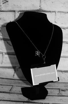 Want my work pass on this Necklace Lanyard by Masie Jane - Butterfly Charm