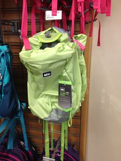 #Rei is going light #GoLite style. This pack looks awesome for back wearing if you are rocking baby on front. Perfect size.
