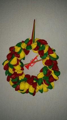Carnavals  balonnen krans