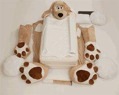 Animal Shaped Beds for the Kids // Cama con forma de animal para niños Funny Furniture, Kids Bedroom Furniture, Cool Furniture, Unique Toddler Beds, Funny Dog Beds, Dinosaur Design, Bedroom Themes, Bedroom Ideas, Kids Corner