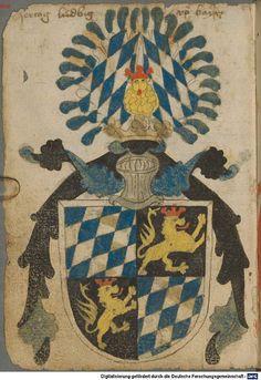 Ortenburger Wappenbuch Bayern, 1466 - 1473 Cod.icon. 308 u  Folio 4v