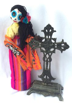 Free shipping with promo code GRANDOPENING. A personal favorite from my Etsy shop https://www.etsy.com/listing/294723719/day-of-the-dead-stump-doll-magdalena