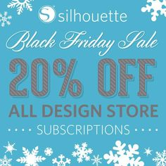 Its Silhouette's BEST Sale of the YEAR!!!! Woot woot! Silhouette Black Friday saleis here! eek! Here are the details! Silhouette Black Friday Sale  Silhouette Black Friday Sale This is a fantastic time toget your Silhouette crafting tools a