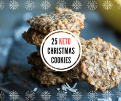 You don't have to take a break from your diet - even if you're keto - to partake in a cookie break. Try one of these recipes from our keto Christmas cookie roundup.