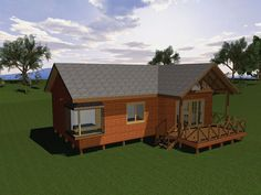 One Room Houses, Tiny Houses, House Plans, Shed, Outdoor Structures, Cabin, House Styles, Home Decor, Arrow