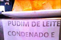 Pudim de leite CONDENADO, sonho de FALSA e molho BARBIE KILL