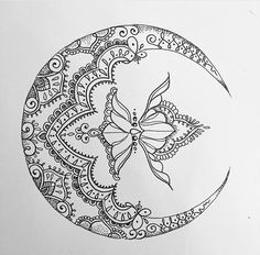 Pretty moon design