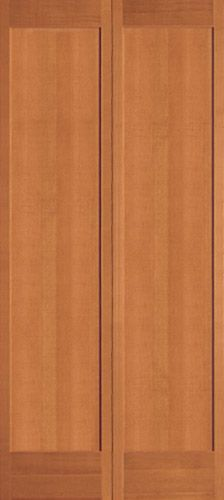 New Doors from Simpson. Shaker bifold #701, but hung as European style doors, not bifold.