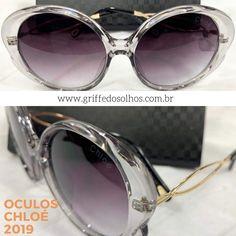 72dcf21584479 Óculos de Sol 2019 · Marca  Chloé Modelo  CE739SL Estilo Retro Oval  Armacao  Plastico duravel Cor da Armação