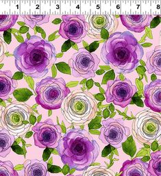 Shades Of Purple, Pink Purple, Block Of The Month, Quilt Top, American Made, Accent Decor, Floral Prints, Quilts, Quilting Fabric