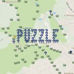 Geocaching Geo-Art near Budapest, Hungary. GC2GZQ5 #geocaching #geoart