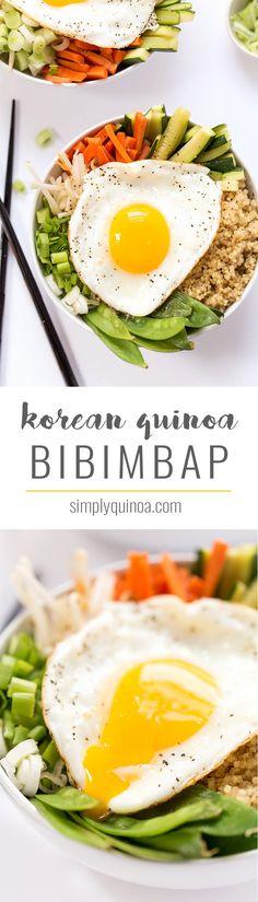 Korean Quinoa Bibimbap