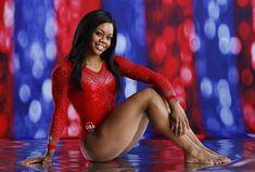 Gabby Douglas just helped Team USA capture gold in Women's Gymnastics. Olympic Badminton, Olympic Games Sports, Olympic Gymnastics, Gabby Douglas, Jordyn Wieber, Nastia Liukin, Female Gymnast, Shawn Johnson, Artistic Gymnastics