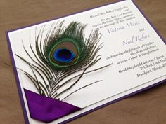 Cheap Peacock Wedding Invitations … | Pinteres…