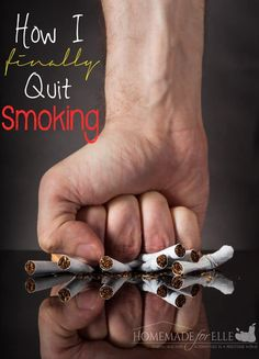 I smoked a pack-a-day, for 12 years. Today, I haven't picked up a cigarette in 5 years. You have the power to quit! Here is how I quit smoking.