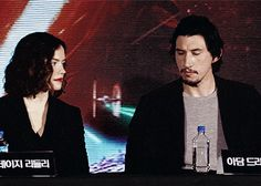 Adam & Daisy attending the TFA press conference in Seoul, South Korea, Dec. 2015.