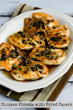 chicken piccata with fried capers chicken piccata with fried capers ...