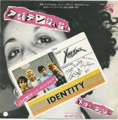 """X-Ray Spex - Identity [1978, EMI EMR-20589│Japan] - 7""""/45 vinyl record"""