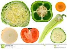 inside of vegetables - Google Search