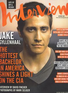 Jake Gyllenhaal on Interview cover.