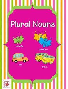FREEBIE:Plural Nouns