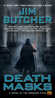 "A book review of ""Death Masks (Dresden Files #5)"" by Jim Butcher, where Harry Dresden grows up. Finally."