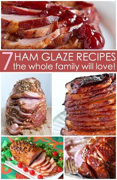 Best Ham Glaze Recipes That Are Easy and Delicious! – Written Reality Best Ham Glaze Recipes: Try these fabulous and easy ham glaze recipes for your next family gathering. Smoked Ham Glaze, Best Ham Glaze, Smoked Ham Recipe, Easy Glaze For Ham, Spiral Ham Glaze Recipe, Grilled Ham Glaze Recipe, Cherry Glazed Ham Recipe, Honey Glaze For Ham, Ham Marinade