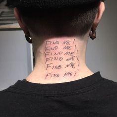 Rebellen Tattoo, Tattoo Quotes, Poke Tattoo, Neck Tattoo For Guys, Tattoos For Guys, Great Tattoos, Beautiful Tattoos, Piercings, Aesthetic Tattoo