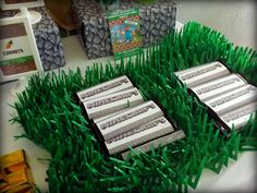 Project Nursery - Minecraft Chocolate Bars