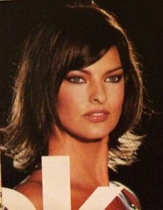 Linda Evangelista, Atelier Versace, 1994
