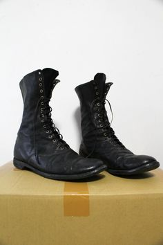 Guidi Vintage Army Boots Size 8 $599 - Grailed