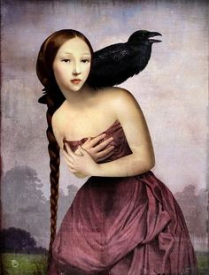 """Christian Schloe artist, his works includes digital art, painting, illustration, and photography. """"Anything can happen in a world that holds such beauty. Art Magique, Illustrator, Pop Surrealism, Wassily Kandinsky, Surreal Art, Bird Art, Oeuvre D'art, Fantasy Art, Contemporary Art"""