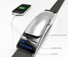 Зарядное устройство Smart Seat Belt, встроенное в ремень безопасности