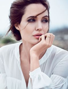 #white #angelinajolie