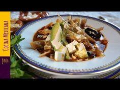 Cómo Hacer la Mejor Sopa de Tortilla Tradicional - YouTube